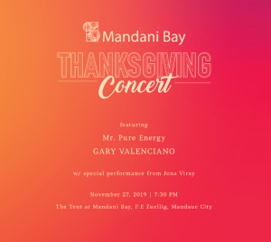 Mandani Bay Thanksgiving Concert