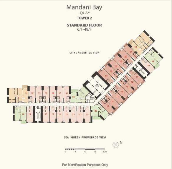 Mandani Bay Tower 2 Floor Plan