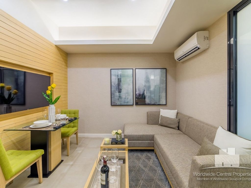 The Suites at Gorordo- Living room of the Residential unit